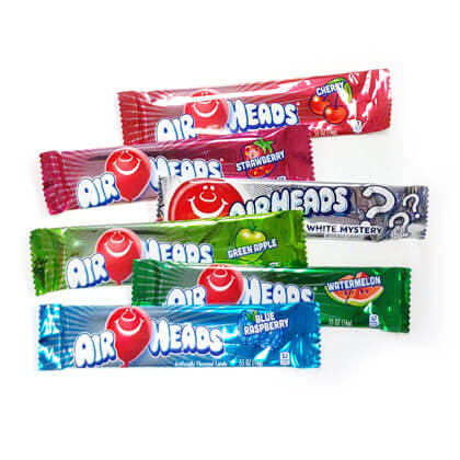 Airheads Assorted 10 ct