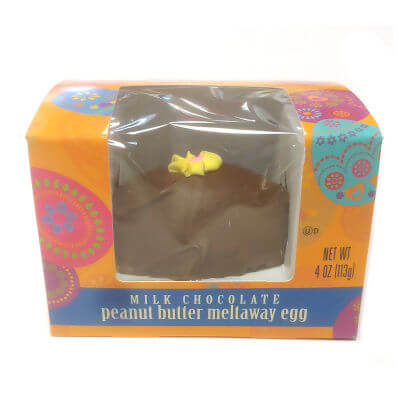 Ashers Milk Chocolate Peanut Butter Egg 4 oz