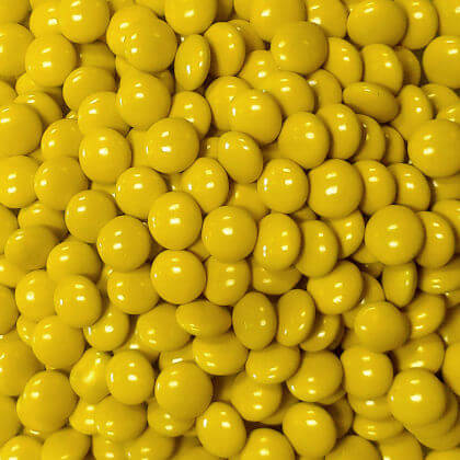 Candy Gems Yellow 1 lb