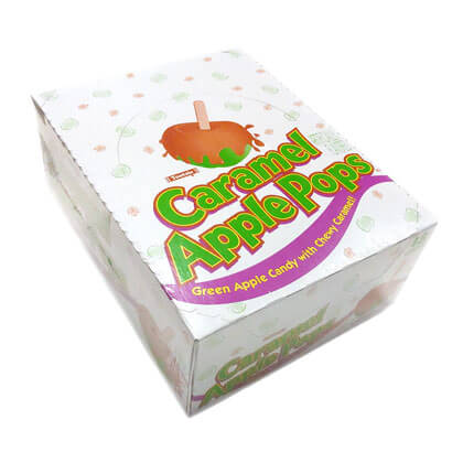 Caramel Apple Pops Box 48 ct