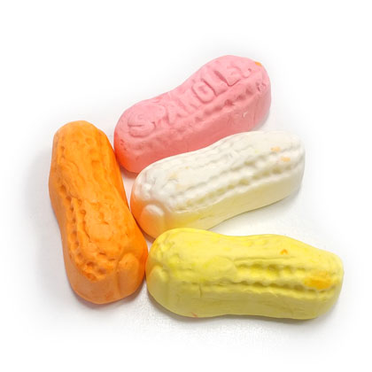 Circus Peanuts Assorted 8 oz