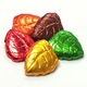 Fall Leaves Foiled Solid Milk Chocolate 5 oz