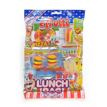 Gummi Lunch Snack Bag 1 ea