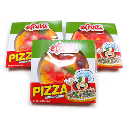 Gummi Mini Pizzas 10 ct