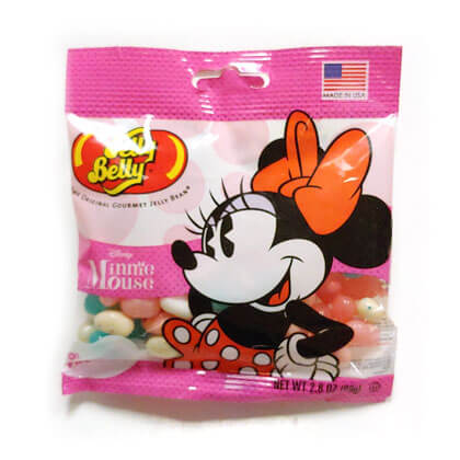 Jelly Belly Disney Minnie Mouse Peg Bag