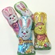 Bunnies Foiled Solid Milk Chocolate 1 ea