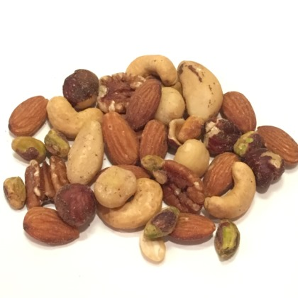 Assorted Mixed Nuts No Peanuts Unsalted 10 oz