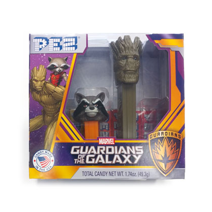 Pez Guardians of the Galaxy Twin Pack 1 ea