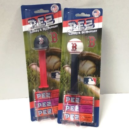 Pez Dispensers Boston Red Sox 1 ea