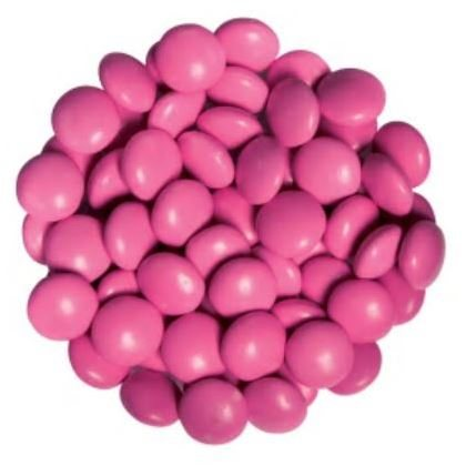Candy Drops Chocolate Pink Hot 1 lb