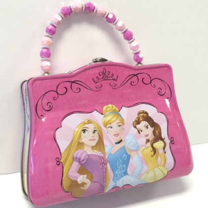 Pearls candy and nuts disney pink bright princess purse - Prinses pure ...