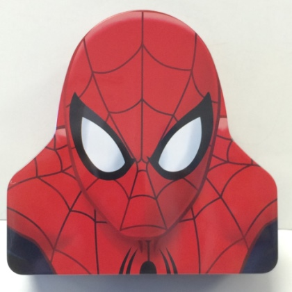 Spiderman Metal Bank