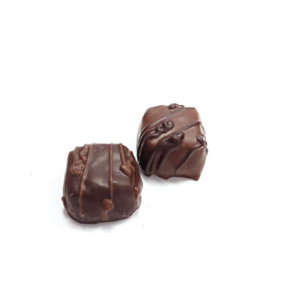 Caramels Vanilla Chocolate Covered Small Box